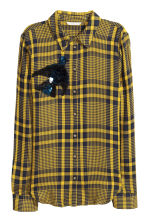 Shirt - Yellow - Ladies | H&M 2