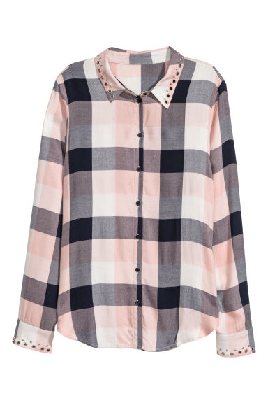 Shirt - Powder pink - Ladies | H&M 1