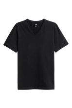 3-pack T-shirts Slim fit - Black - Men | H&M CN 3