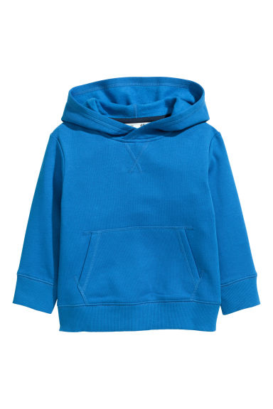 Sweat-shirt à capuche - Bleu vif - ENFANT | H&M BE