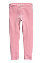 Velour leggings - Pink - Kids | H&M 1
