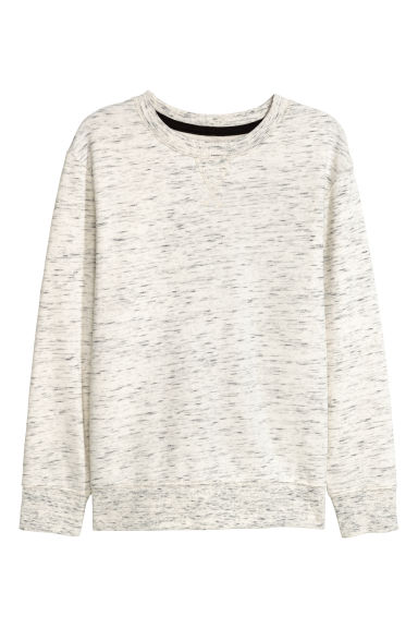 Sweater - Lichtbeige gemêleerd -  | H&M BE