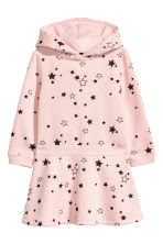 Sweatshirt dress - Light pink/Stars -  | H&M 2