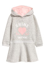 Sweatshirt Dress - Light gray melange - Kids | H&M CA 2