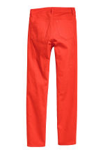 Enkellange stretchbroek - Rood - DAMES | H&M BE 3