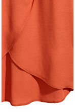 Long wrapover skirt - Orange - Ladies | H&M 3