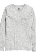 2-pack jersey tops - Black/Grey - Kids | H&M 4