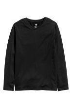 2-pack jersey tops - Black/Grey - Kids | H&M 3