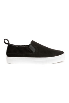 Sneakers slip-on scamosciate