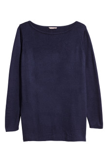 H&M+ Fine-knit Sweater