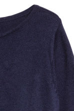 H&M+ Fine-knit jumper - Dark blue - Ladies | H&M IE 3