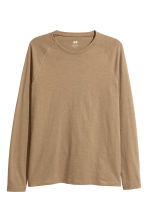 Baseball top - Camel - Men | H&M CN 2