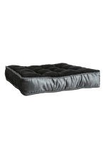 Galette de chaise en velours - Gris anthracite - HOME | H&M BE 2