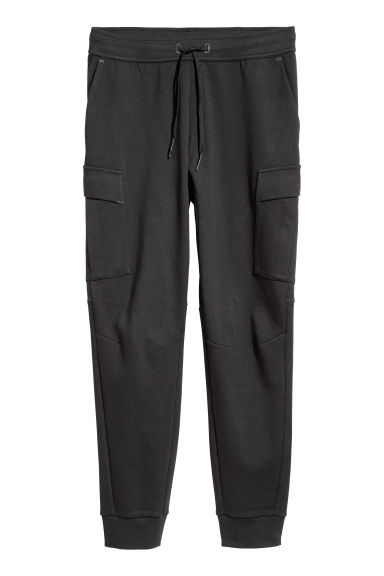 Sports trousers with pockets - Black -  | H&M