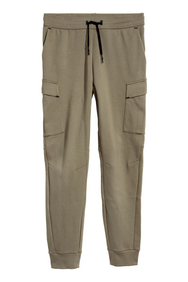 Sports trousers with pockets - Khaki green - Men | H&M