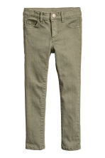 Twill trousers - Khaki green - Kids | H&M 2
