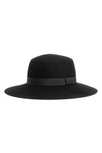 Wool hat - Black - Ladies | H&M 1