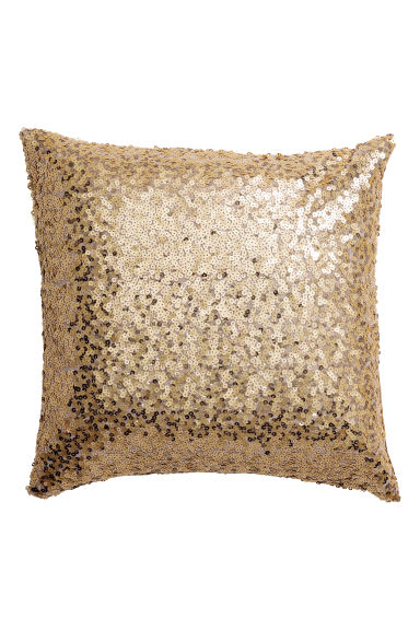 Sequined cushion cover - 金色 - Home All | H&M CN 1