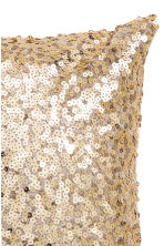 Sequined cushion cover - 金色 - Home All | H&M CN 3