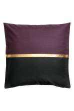 Dark purple/Gold-coloured
