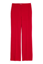 Suit trousers - Red - Ladies | H&M IE 2