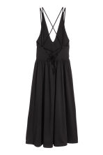 V-neck dress - Black - Ladies | H&M CN 3