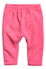 Fleece jacket and joggers - White/Pink -  | H&M 2