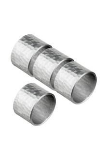 4-pack metal napkin rings