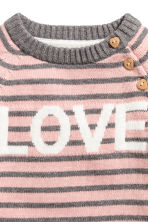 Knitted jumper - Pink/Love -  | H&M 3