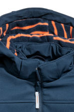 Softshell jacket - Dark blue -  | H&M 4