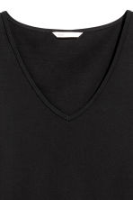 Long-sleeved jersey top - Black - Ladies | H&M CN 3
