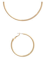 2 pairs hoop earrings - Gold - Ladies | H&M GB 2