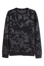 Jacquard-knit jumper - Black - Men | H&M 2