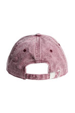 Cap with embroidery - Washed-out pink - Men | H&M CN 2
