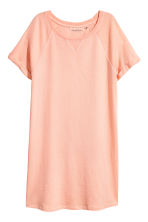 Cotton T-shirt Dress - Light apricot - Ladies | H&M CA 2