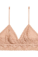 2-pack non-wired lace bras - Black/Toffee - Ladies | H&M CN 4