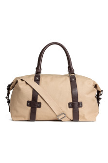 Canvas weekend bag