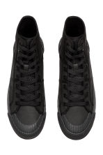 Hi-top trainers - Black - Men | H&M GB 2