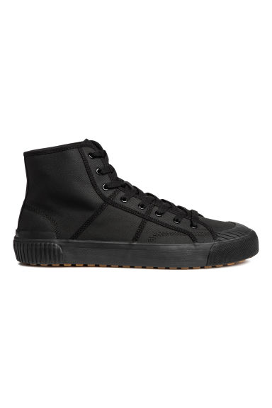 Hi-top trainers - Black - Men | H&M GB 1