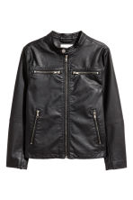 Biker jacket - Black - Kids | H&M CN 2