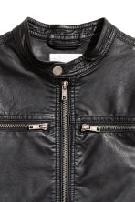 Biker jacket - Black - Kids | H&M CN 3