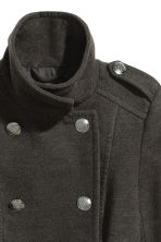 Pea coat - Dark grey - Ladies | H&M IE 3