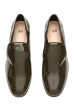 Lakleren loafers - Kakigroen/lak - DAMES | H&M BE 2