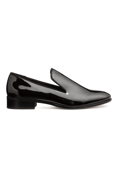 Lakleren loafers - Zwart/lak - DAMES | H&M BE