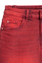 Denim rok - Rood washed out - DAMES | H&M NL 4