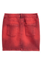 Denim rok - Rood washed out - DAMES | H&M NL 3