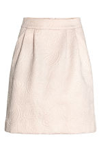 Textured skirt - Light beige/Paisley - Ladies | H&M 2