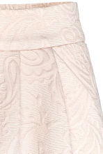 Textured skirt - Light beige/Paisley - Ladies | H&M 4