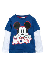 Azul/Mickey Mouse
