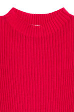 Ribbed Sleeveless Sweater - Red - Ladies | H&M CA 3